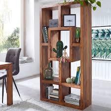 bookshelf mumbai solid wood sheesham 115 x 180 cm living