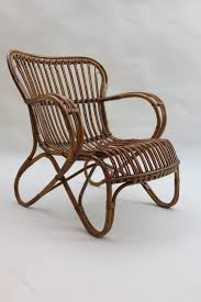 1920s Cane And Rattan Lounge Chair - Antiques Atlas