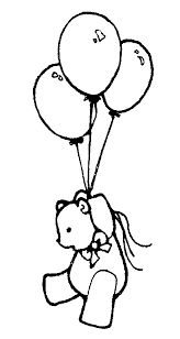 Balloon Clip Art Black And White Free Birthday Balloons Clip Art