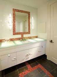 eye catching bathroom glass tile mosaic mirror tiles