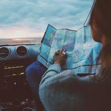 Car Change Countries Dawn Flight Girl Inspiration Looking