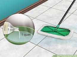 Ceramic Tile Haze Remover by 4 Ways To Clean Grout Off Tile Wikihow