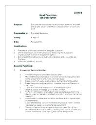 Janitorial Cover Letter Janitor Resume Sample Position No Experience Proposal