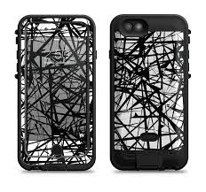 the black and white shards Apple iPhone 6 6s LifeProof Fre POWER