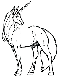 Unicorn Color Page Pictures To With Coloring Pages