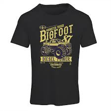 Monster Truck Big Foot T-Shirt - Domingo UK Kids Rap Attack Monster Truck Tshirt Thrdown Amazoncom Monster Truck Tshirt For Men And Boys Clothing T Shirt Divernte Uomo Maglietta Con Stampa Ironica Super Leroy The Savage Official The Website Of Cleetus Grave Digger Dennis Anderson 20th Anniversary Birthday Boy Vintage Bday Boys Fire Shirt Hoodie Tshirts Unique Apparel Teespring 50th Baja 1000 Off Road Evolution 3d Printed Tshirt Hoodie Sntm160402 Monkstars Inc Graphic Toy Trucks American Bald Eagle
