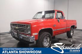 100 1986 Chevy Trucks For Sale Chevrolet K10 4x4 For Sale 79596 MCG