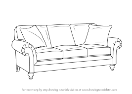 Drawn Couch Lounge 4