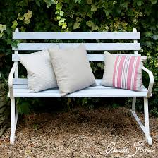 Bench Stockists by Annie Sloan Inspiration Painted Garden Bench