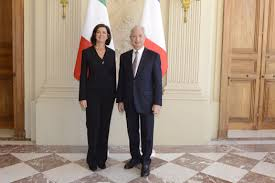 chambre des deputes entretien avec boldrini présidente de la chambre des députés