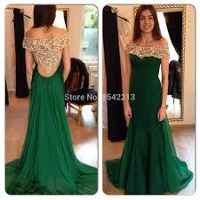 green dress party vosoi