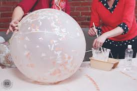 DIY Globe Light Made With A Balloon String And Paper Mache