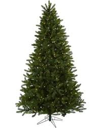 Nearly Natural 7 1 2 Ft Rembrandt Pre Lit Artificial Christmas Tree
