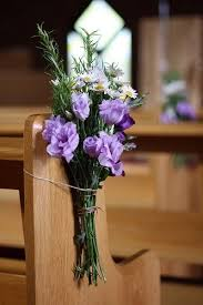Wedding Pew Ends Church Flowers By Passion For