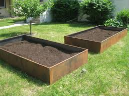 garden metal planter boxes  Home Decorations Insight