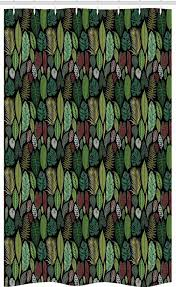 abakuhaus duschvorhang badezimmer deko set aus stoff mit haken breite 120 cm höhe 180 cm botanisch vielfalt der weinlese blätter kaufen