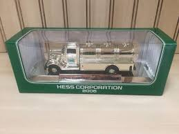 2006 Hess Chrome Special Edition NYSE Mini Truck | Hess Trucks By ... Hess Custom Hot Wheels Diecast Cars And Trucks Gas Station Toy Oil Toys Values Descriptions 2006 Truck Helicopter Operating 13 Similar Items Speedway Vintage Holiday On Behance Collection With 1966 Tanker Miniature 18 Wheeler Racer Ebay Hess Youtube 2012 Rescue Video Review 5 H X 16 W 4 L For Sale Wildwood Antique Malls