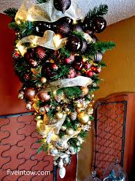 Rotating Christmas Tree Stand Hobby Lobby by Simply Homemade Inverted Christmas Tree Kristen Anne Glover