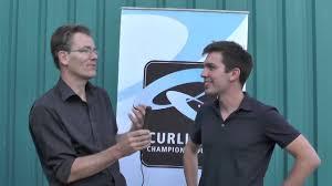 100 Peter De Cruz Curling Champions Tour 2013 Interview