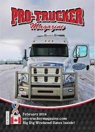 February 2016 Issue | Pro-Trucker Magazine | Canada's Trucking Magazine Prime News Inc Truck Driving School Job Team Run Smart 5 Ways To Show Respect A Truck Driver 7 Big Changes In Expedite Trucking Since The 90s Expeditenow Magazine Astazero Proving Ground Volvo Trucks Truck Driver April 2018 300 Pclick Uk Tailgater Giveaway Sweepstakes Giveawayuscom Magz Ed 30 December 2016 Gramedia Digital Nz May By Issuu A Portrait Of And Family Man C Is New Truckmonitoring Technology For Safety Or Spying On Drivers Reader Rigs Gallery Ordrive Owner Operators