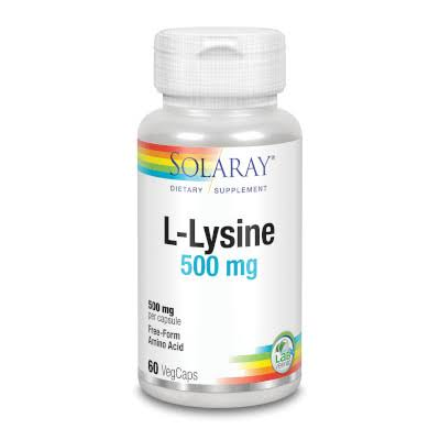 Solaray L-Lysine Supplement - 60 Count