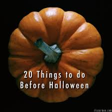 Things To Do On Halloween London by Halloween Things To Do