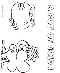 St Patricks Day Coloring Book Page