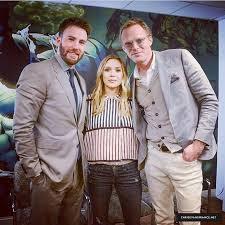 Chris Evans News On Twitter Incase You Missed It Elizabeth Olsen And Paul Bettany Visit The Marvel HQ Tco GqkDHWb6kg