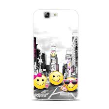 H247 Smile Face Emoji Transparent Hard Thin Skin Case Cover For Huawei P 6 7 8 9 10 Lite Plus Honor 4C 4X G7 In Fitted Cases From Cellphones