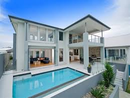 modern pool tile designs for exterior home with most popular paint
