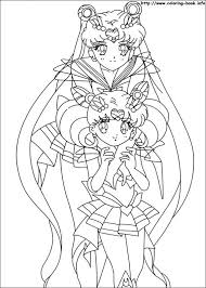Sailor Moon Coloring Picture
