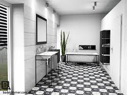 black white mit liebe zum detail badezimmer
