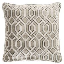 casa padrino deko zierkissen grau 60 x 60 cm luxus wohnzimmer accessoires