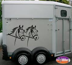 Driving Horse Heads Car, Lorry, Trailer, Horsebox Decal. Size Large ... Details About Horse Vinyl Car Sticker Decal Window Laptop Oracal Medieval Knight Jousting Lance Horse Decals Accsories For Car Vinyl Sticker Animal Stickers Made By Stallion Tribal Decal J373 Products Graphics For Trailers I Love My Arabianhorse Vehicle Or Trailer Country Cutie With A Rock N Roll Booty Southern Brand New Carfloat Tack Box 4wd Wall Stickers Wall 23 Decals Laptop Cowgirl And Horse Cartoon Motorcycle Fashion