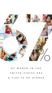 67 percent project plus size women body image