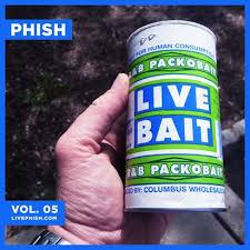 Bathtub Gin Phishnet by Live Bait Vol 5 Available Phish Net