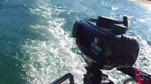 Intex Excursion 5 Floor Board by 2 3hp Outboard Motor On Inflatable Boat Round Tail Youtube