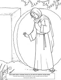 Jesus Christ Made It Possible In Resurrection Coloring Page