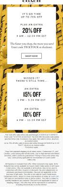 Coach Coupons - Extra 20% Off Online Today At Coach Outlet ... Promo Code Barneys Coach Coupon Hobby Lobby In Store Coupons 2019 Perform Better Promo 50 Off Nrdachlinescom Black Friday Codes 20 Off Noom Coupon Decoupons Code For Coach Tote Mahogany Hills 3e042 94c42 Purses Madison Wi 34b04 Ff8fa Virtual Discount 100 Deal Camp Galileo 2018 Annas Pizza Coupons Extra Off Online Today At Outlet Com Foxwoods Casino Hotel Discounts Corner Zip Signature 53009b Saddleblack Coated Canvas Wristlet 53 Retail