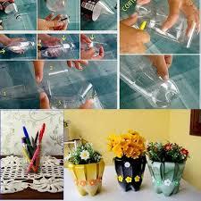 Flower Pot For Your Table Using Waste Plastic Bottle