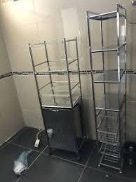 chrom regal badezimmer ausstattung und möbel ebay