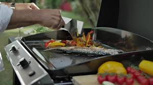 barbecue a la plancha plancha gaz eno matériel cuisine villefranche sur saône