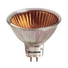 bulbrite exn o 50 watt 12 volt orange mr16 flood halogen bulb ebay