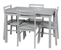 table et 4 chaises ensemble table chaises table 4 chaises detroit 2 gris par but
