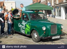 A Converted Taxi The Big Green Egg Barbecue At The Thame Festival Of ...