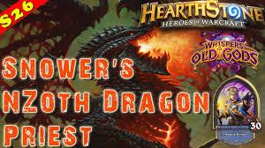 Dragon Priest Deck Hearthpwn by Hearthstone Snower U0027s Dragon Priest Deck U0026 Decklist Constructed