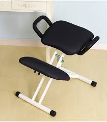 Ergonomic Kneeling Posture Office Chair by Ergonomically Designed Kneeling Chair With Handle Height Adjust
