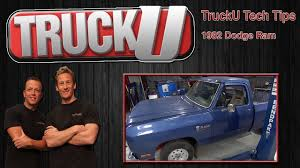 LMC Truck Project: 1982 Dodge Ram | TruckU Tech Tips - YouTube