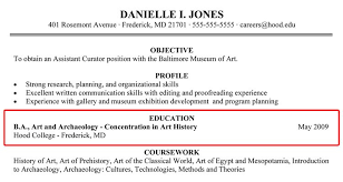 14 Incomplete Degree Resume