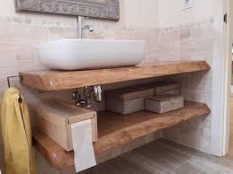 encimera lavabo roble y porta rollos caja vino